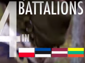 NATO video - NATO is enhancing security on it's eastern flank with the deployment of four NATO battalions. One each in Latvia, Lithuania, Estonia, and Poland.