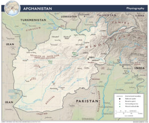 Map of Afghanistan (CIA) - Afghanistan News