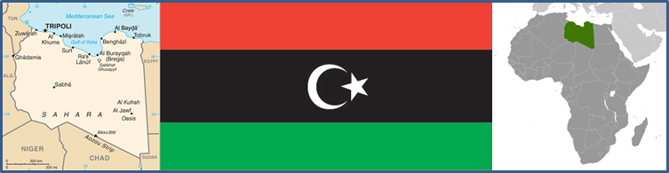 Libya Maps and Flag