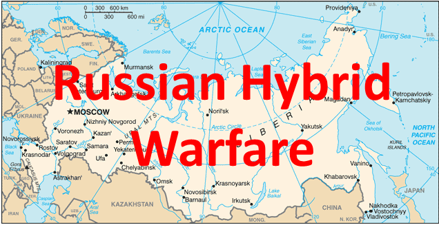 Map - Russian Hybrid Warfare