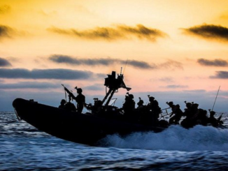 U.S. Marines Corps Small Boat Training (photo USMC)