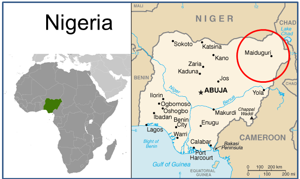 Sof and boko haram nigerias long term nightmare sof news boko haram area of operations in nigeria image adapted from cia maps world factbook gumiabroncs Gallery