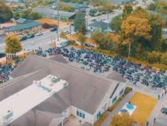 Blackbeard's Ride 2017 - This annual event is in memory of SSG Matthew A. Pucino and raises funds to assist wounded or injured combat veterans and their families. (Photo from video by Matthew A. Pucino Foundation, LTD).