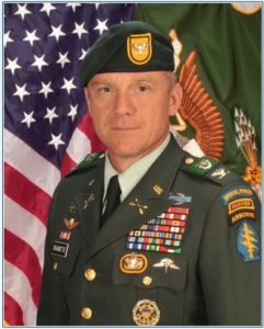 COL Francis Beaudette Special Forces 1st SFG