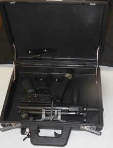 A specialty H&K weapon for those special situaitons and challenging environments in a briefcase.