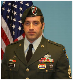 Blackbeard's Ride 2018 - SSG Matthew Pucino of 20th Special Forces Group died on November 23, 2009 in Afghanistan. (Photo USASOC Fallen Heroes Memorial)