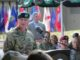 MG Francis Beaudette speaks during ceremony where he assumed command of the 1st Special Forces Command on July 28, 2017 at Fort Bragg, North Carolina (Photo courtesy USASFC).