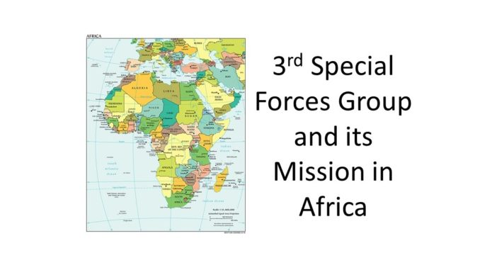 3rd SFG Africa Mission - Map of Africa