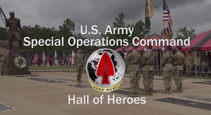Hall of Heroes - USASOC digital memorial to fallen SOF Soldiers