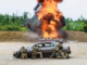 Special Operations Soldiers fire upon an enemy vehicle during a capabilities exercise on Fort Bragg, NC (Photo by USSOCOM, Tip of the Spear, June, 2017)