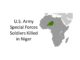 Three Green Berets killed in Niger