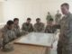 RAND SFA Paper - SFAAT Adviser from 4 BCT 3rd ID deployed in Logar province, Afghanistan provides instruction on C-IED to ANCOP (Photo by SGT Julieanne Morse, US Army).