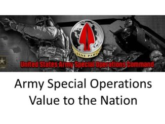 ARSOF Value to the Nation