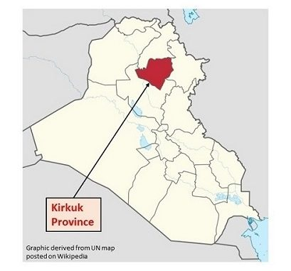 Kirkuk update - fighting between ISF and Peshmerga