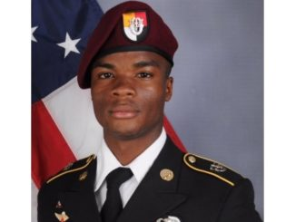 SGT La David Johnson - 3rd Special Forces Group, KIA in Niger on October 4, 2017.