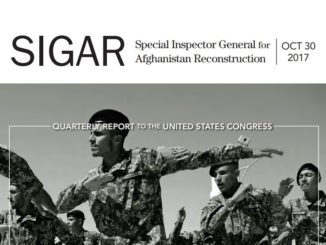 October 2017 SIGAR Report