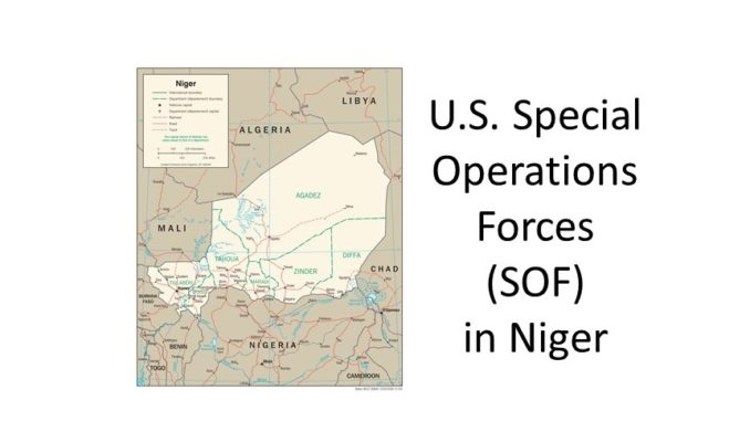 Special Forces in Niger