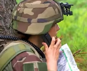 NATO JTAC Video - French JTAC