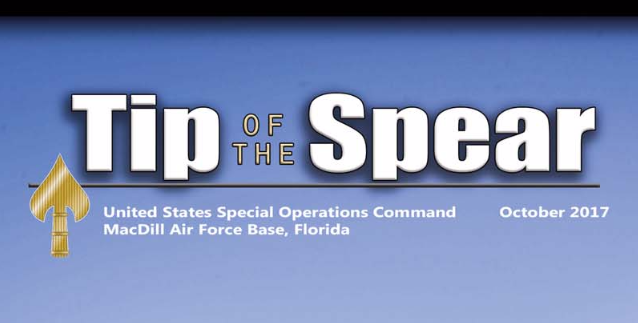 Tip of the Spear October 2017