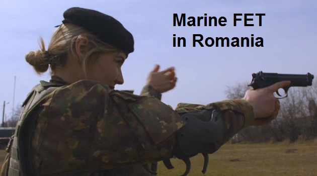 Video Marine FET - Female Engagement Team in Romania | SOF News