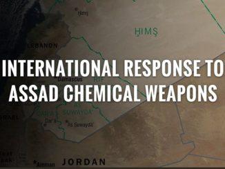 April 2018 Coalition air strikes against Syria