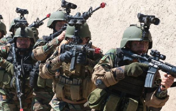 ANA Troops Training (photo NATO, May 2017)