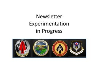 newsletter experimentation
