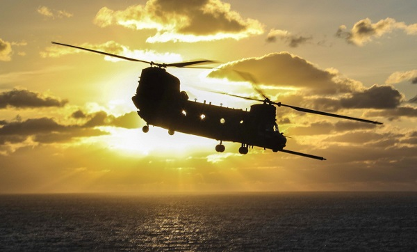 Chinook CH-47 Helicopter