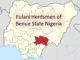 Fulani Herdsmen Benue State Nigeria
