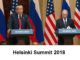 Helsinki Summit 2018 Putin and Trump meet in Finland on July 16, 2018