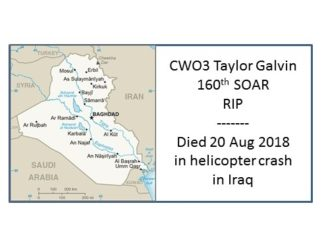 CWO3 Taylor Galvin 160th SOAR RIP