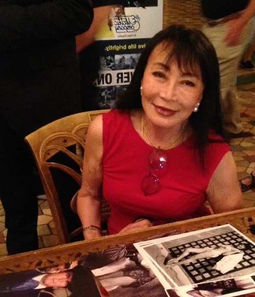 """Irene Tsu played the role of the 'honey trap' in the movie """"The Green Berets""""."""