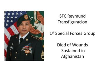 SFC Reymund Transfiguracion 1st Special Forces Group
