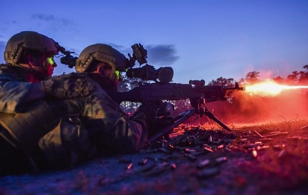 SOF snipers take part in the International Special Training Centre's (ISTC) Basic Sniper Course. Photo by SOCEUR 2017.