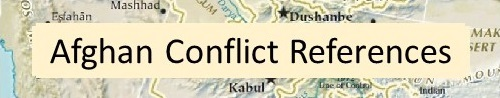 Afghan Conflict References