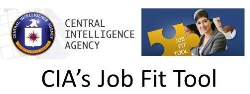 CIA's Job Fit Tool