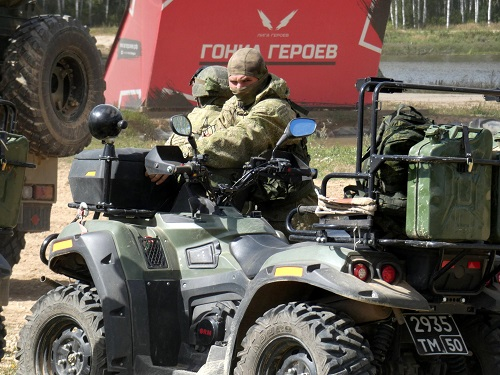 Army 2018 - Russian SOF All Terrain Vehicle (ATV)