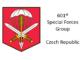 601st Special Forces Group Czech Republic