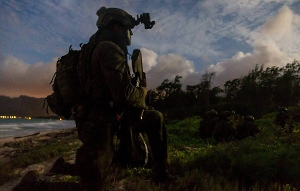 Australian Officer Rim of the Pacific 2018. Photo by Corporal Kyle Jenner, Sep 2018.