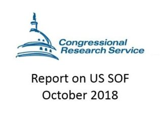 CRS Report on US Special Operations Forces October 2018