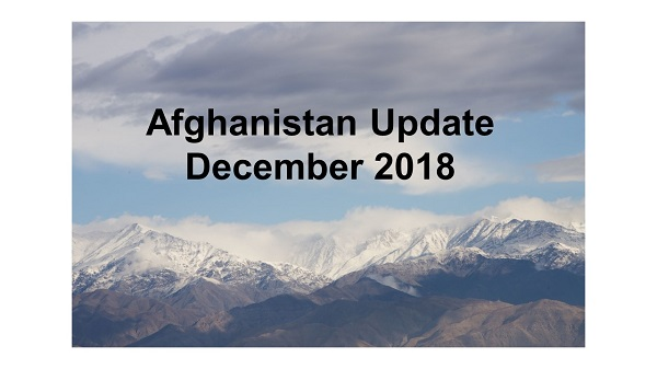 Afghanistan Update - Recent news, analysis, and commentary on the Afghan conflict.