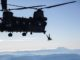 HALO Jump by 1st SFGA from CH-47 on Dec 6, 2018. Photo by SGT Joseph Parrish, U.S. Army.