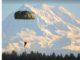 Parachutist. USASOC photo.
