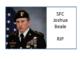 SFC Joshua Beale KIA Afghanistan January 2019