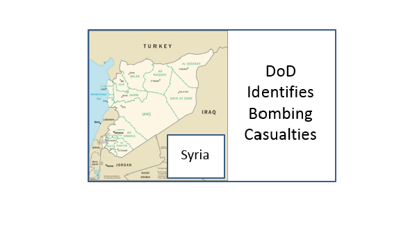 Syria bombing casualties January 2019