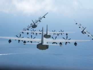 AFSOC Aircraft in Formation. Photo by USAF, 2017.