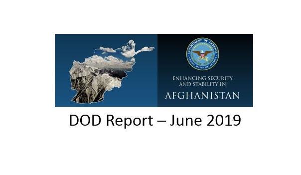 DOD Report on Afghanistan June 2019