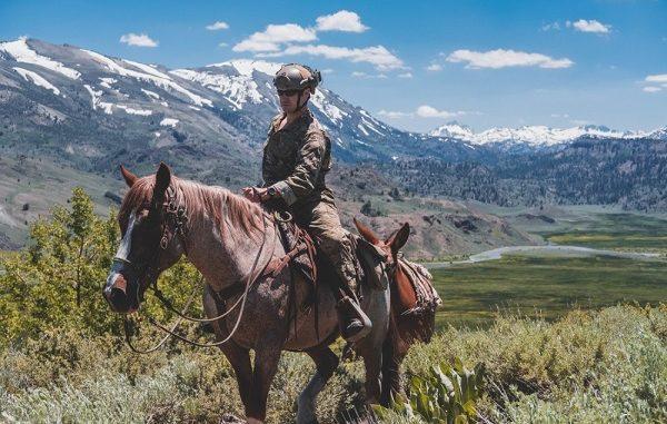 7th Group Horseback Rider