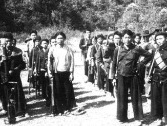 Proxy Warfare - Hmong Guerrilla Company, Phou Vieng, 1961, Wikimedia Commons.